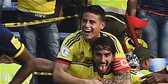 Sebastián Pérez y su primer gol con Colombia: similar a uno de Cruyff