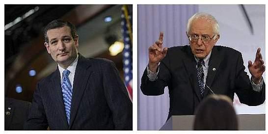 Ted Cruz y Bernie Sanders ganan primarias de Wisconsin
