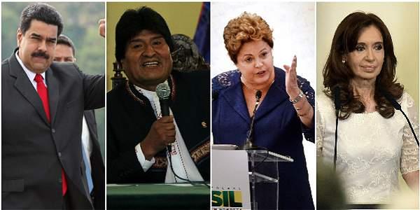La izquierda pierde brillo en Latinoamérica