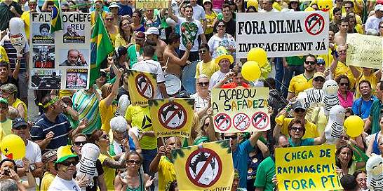 Corrupción puso en jaque proyecto de Lula y Dilma