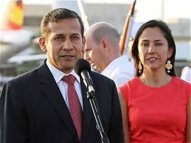 Cambio de mando en el Perú