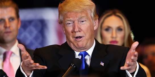 Trump, a sanar heridas entre los republicanos