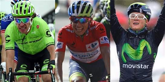 El lote de ciclistas colombianos que estará en el Giro de Italia