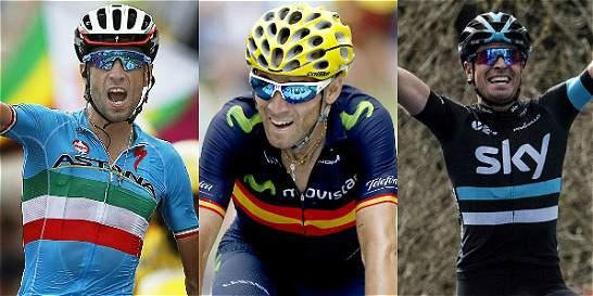 Estos serán los rivales de Urán y Chaves en el Giro de Italia