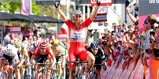 'Me encanta ganar en el Giro de Italia: Kittel