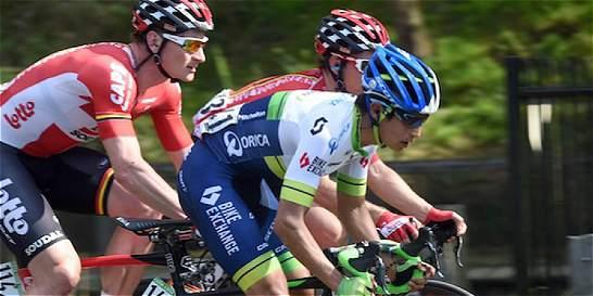 Chaves está de octavo y Urán, de undécimo en la general del Giro