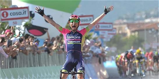 'Siempre es emocionante ganar en el Giro': Ulissi