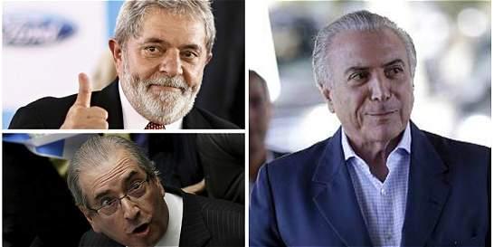 Los otros políticos investigados por corrupción en Brasil