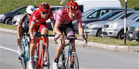 Dumoulin, Chaves y Valverde tienen la ventaja en el Giro