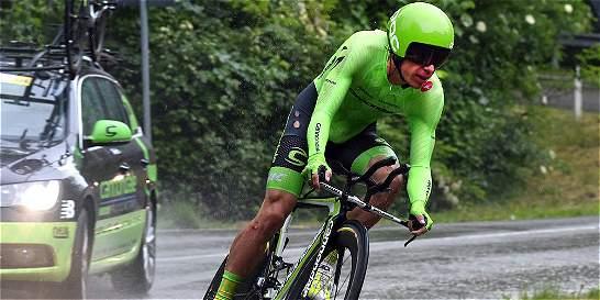 Urán 'no tiene ni idea' de cómo recuperar el tiempo perdido en el Giro