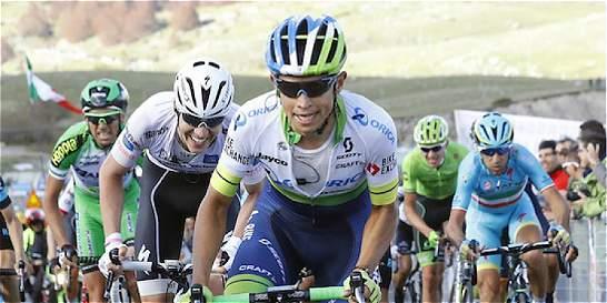 Esteban Chaves, confiado en seguir peleando en el Giro de Italia