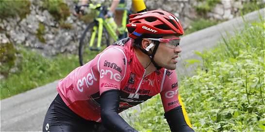 Tom Dumoulin abandonó el Giro en la undécima etapa
