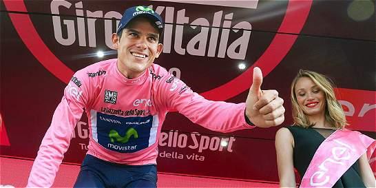 Las diferencias entre los favoritos del Giro son más cortas