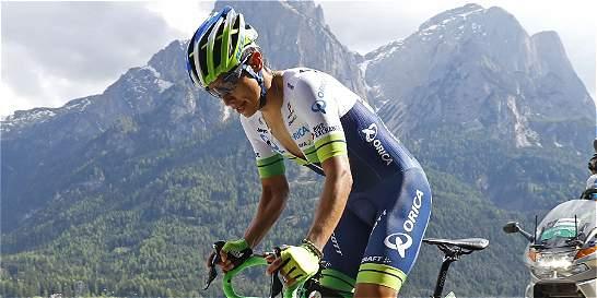 Chaves sigue en ascenso: ahora es segundo en la general del Giro