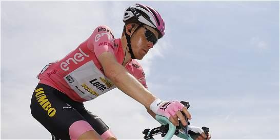 'Valverde arrancó y me puse a su rueda, sin problemas': Kruijswijk