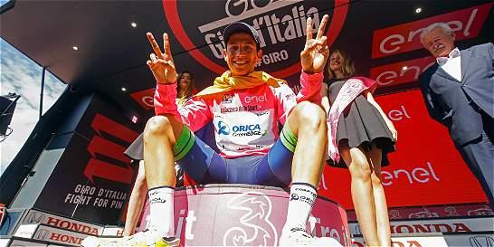 Esteban Chaves, a darlo todo por el título del Giro de Italia