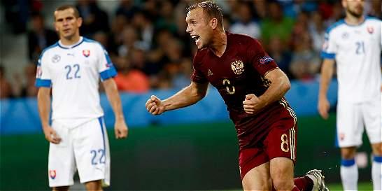 Eslovaquia derrotó a Rusia y le complica el camino en la Eurocopa