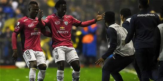 La sorpresa que le dejó Boca a Independiente del Valle en el camerino