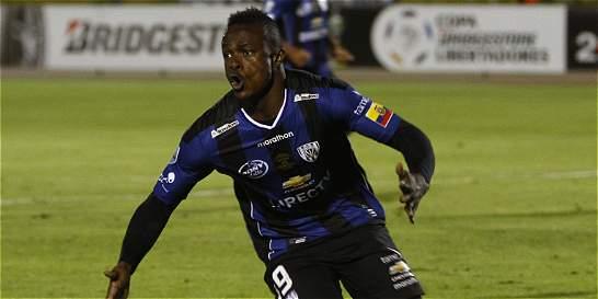 Angulo, el hombre gol de Independiente del Valle