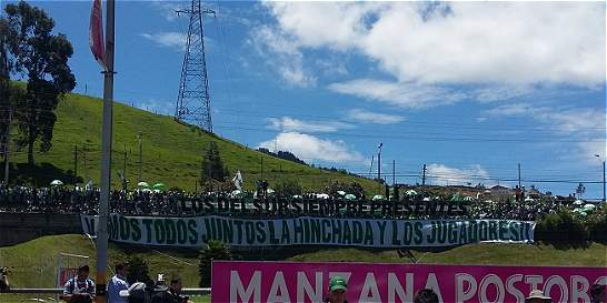 5 mil hinchas de Nacional se hicieron presentes en el entrenamiento