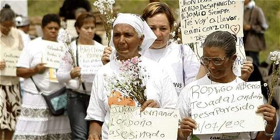 Desaparición forzada por el conflicto armado disminuye en el país