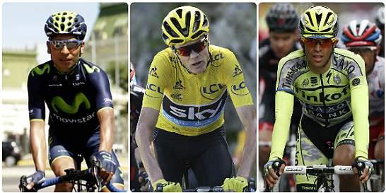 Quintana, Froome y Contador, favoritos para ganar la Vuelta a España
