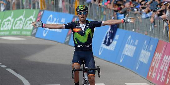 'Vengo sin aspiraciones, pero esta carrera motiva': Valverde