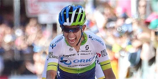 Esteban Chaves regresa para subir al podio de la Vuelta a España