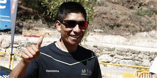 'Voy a intentar ganar la Vuelta a España': Nairo Quintana