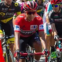 Yates ganó la sexta etapa de la Vuelta; Atapuma, un día más de líder