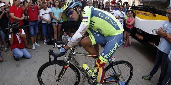 Alberto Contador, no se rinde a pesar de las caídas