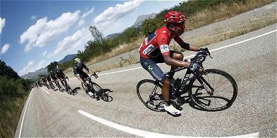 Nairo, segundo en la general de la Vuelta a España; está a 22 segundos