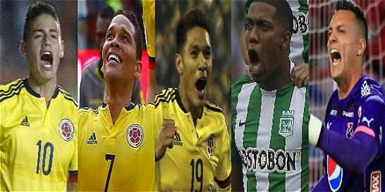 Listos los convocados de Colombia para enfrentar a Venezuela y Brasil