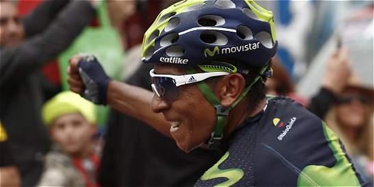 'Siempre había soñado ganar acá': Nairo Quintana