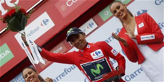 Nairo Quintana dio un golpe de autoridad, pero aún no ha ganado la Vuelta