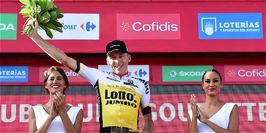 Robert Gesink ganó la etapa 'reina' de la Vuelta; Nairo, sigue líder