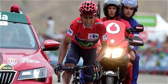 'Hoy ha sido un día grandioso': Nairo Quintana