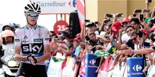 Froome, un buen perdedor: aplaudió a Nairo por su título de la Vuelta