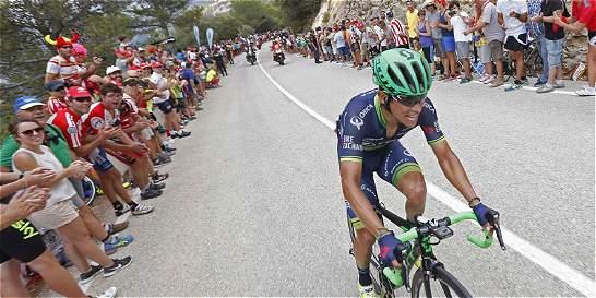 'Ser tercero en la Vuelta es algo muy grande': Chaves