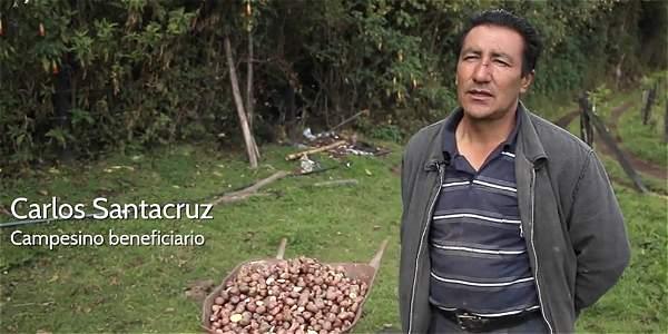Víctima de despojo cuenta cómo fue recuperar sus tierras