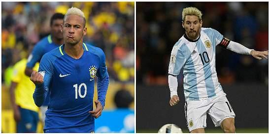 Brasil y Argentina ya preparan todo para el superclásico de Suramérica