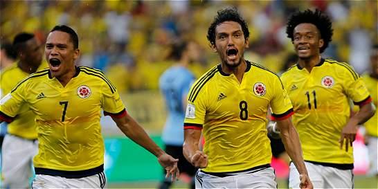 Así hacen y así reciben los goles Colombia y Chile en eliminatorias