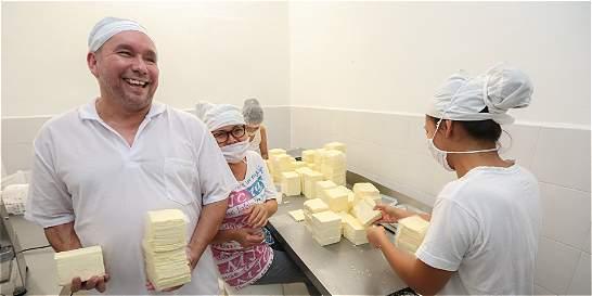 'En La Paz se hacen los mejores quesos'
