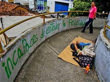 La mendicidad, un negocio millonario en Bucaramanga