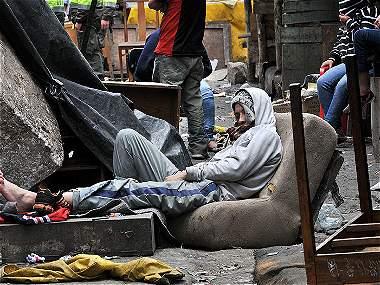 La mayoría llega a las calles de la capital por problemas en la casa