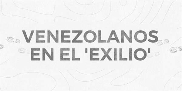 Venezolanos en el 'exilio'