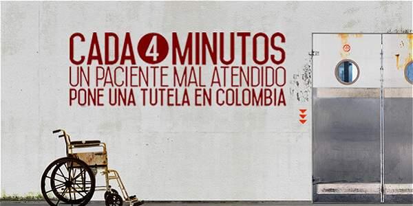 Cada 4 minutos un paciente mal atendido pone una tutela en Colombia