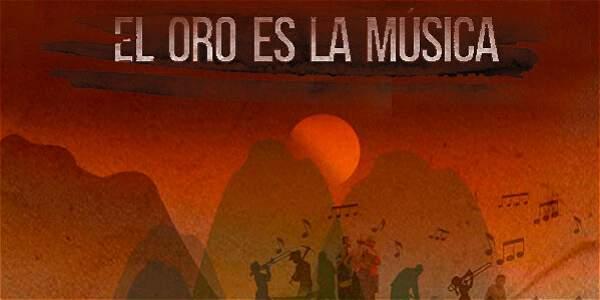 El oro es la música