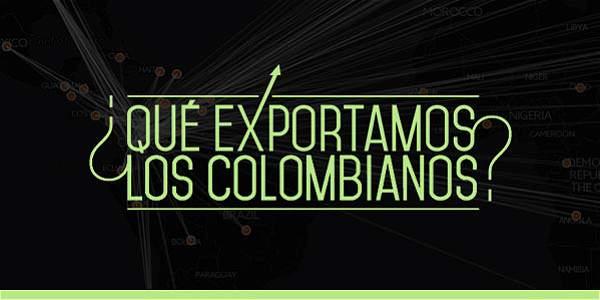 ¿Qué exportamos los colombianos?