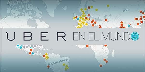 ¿Cómo está UBER en el mundo?